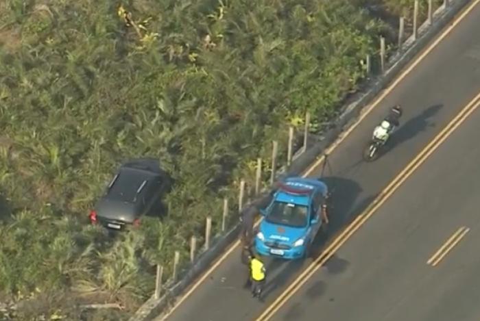 Motociclista morre após batida na Praia da Reserva