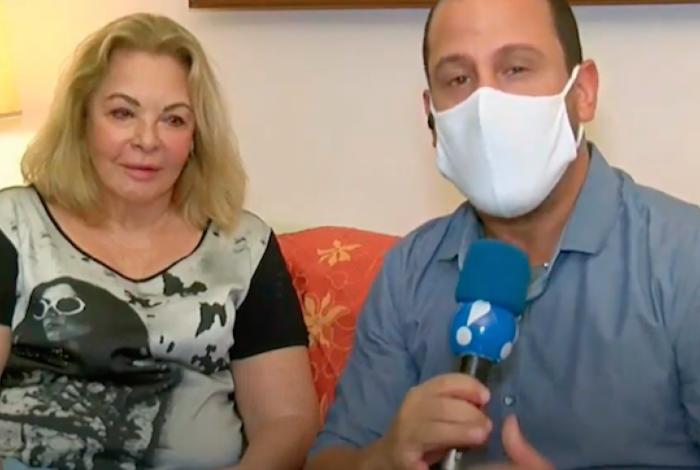 Vera Gimenez em entrevista ao 'Alerta Nacional': vítima de golpe