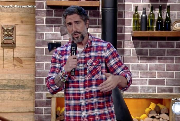 Marcos Mion é o apresentador de 'A Fazenda'