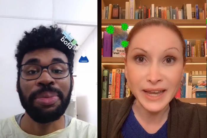 O virologista Rômulo Neris e a microbiologista Natália Pasternak: cientistas se unem em iniciativa para combater desinformação sobre vacinas
